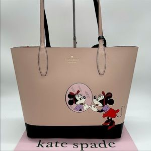 Kate Spade Minnie Mouse Large Reversible Tote